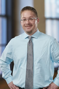 Heath Hisek, Intake Specialist<